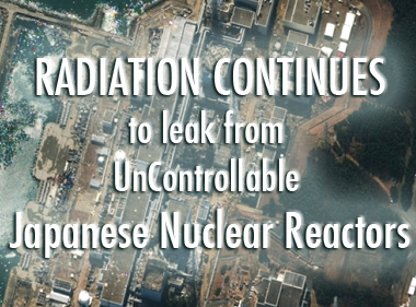 Japanese Reactors continue to leak dangerous Radiation